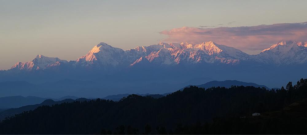 Pink peaks