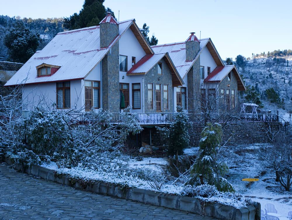 Frosted Cottages