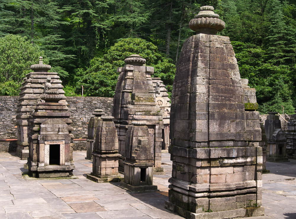 Temples on a Sunny Day